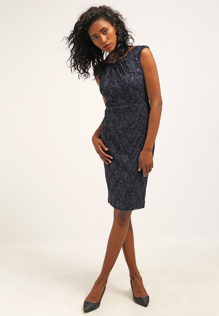 Dieses Kleid überzeugt mit purer Eleganz. Swing Etuikleid - navy für 99,95 € (28.06.16) versandkostenfrei bei Zalando bestellen.