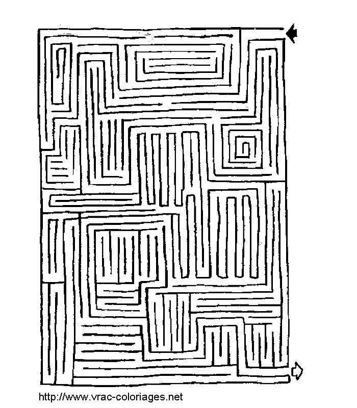 free labrynth coloring pages - photo#41