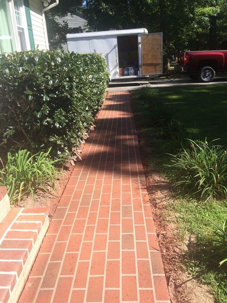Superior Brick Patterned Decorative Concrete Sidewalk In Chestertown, Maryland.  Ziegel MusterDekorativer BetonGehwegTerrasseZiegel