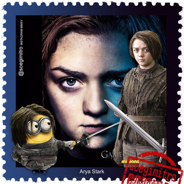 Game Of Thrones Minions ~ Arya Stark