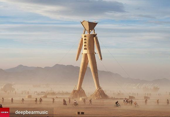 Looks like the man has arrived.  #burningman #burningman2017 #edm #festivals #raves #rave #techno #trance #plur #blackrock  @Regrann from @deepbearmusic -  Conheça o Altar das Intenções o projeto brasileiro para este Burning Man | Acesse deepbear.com.br #regrann