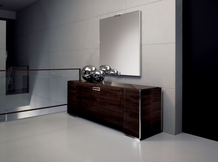 The One & Only buffet in Canela Noire timber with high gloss polyester finis made in Italy! www.sovereigninteriors.com.au