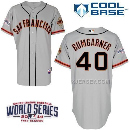 http://www.xjersey.com/giants-40-grey-bumgarber-2014-world-series-cool-base-road-jerseys.html GIANTS 40 GREY BUMGARBER 2014 WORLD SERIES COOL BASE ROAD JERSEYS Only $34.00 , Free Shipping!
