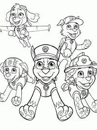 35 paw patrol kleurplaten - gratis te printen   kleurplaten, gratis kleurplaten, kinderkleurplaten