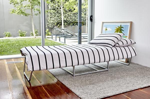 Ottoman Bed, 750/2000l x 750w x 430h