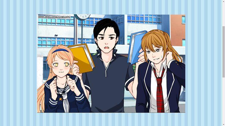 Momiji,Misaki-sensei(her dad) and Sky