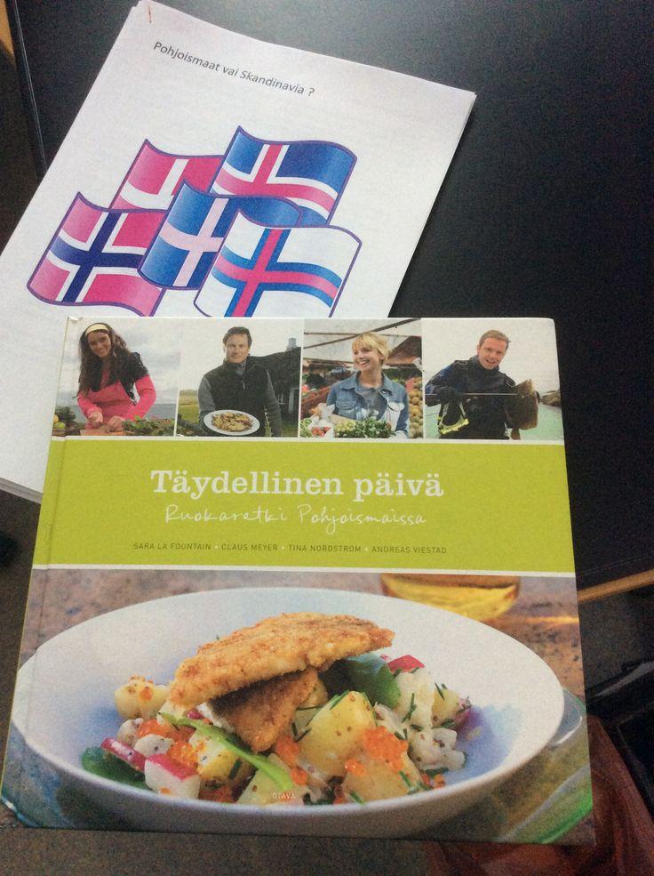 Pohjoismaat & skandinavia. Kokkasille kirjan resepteillä.
