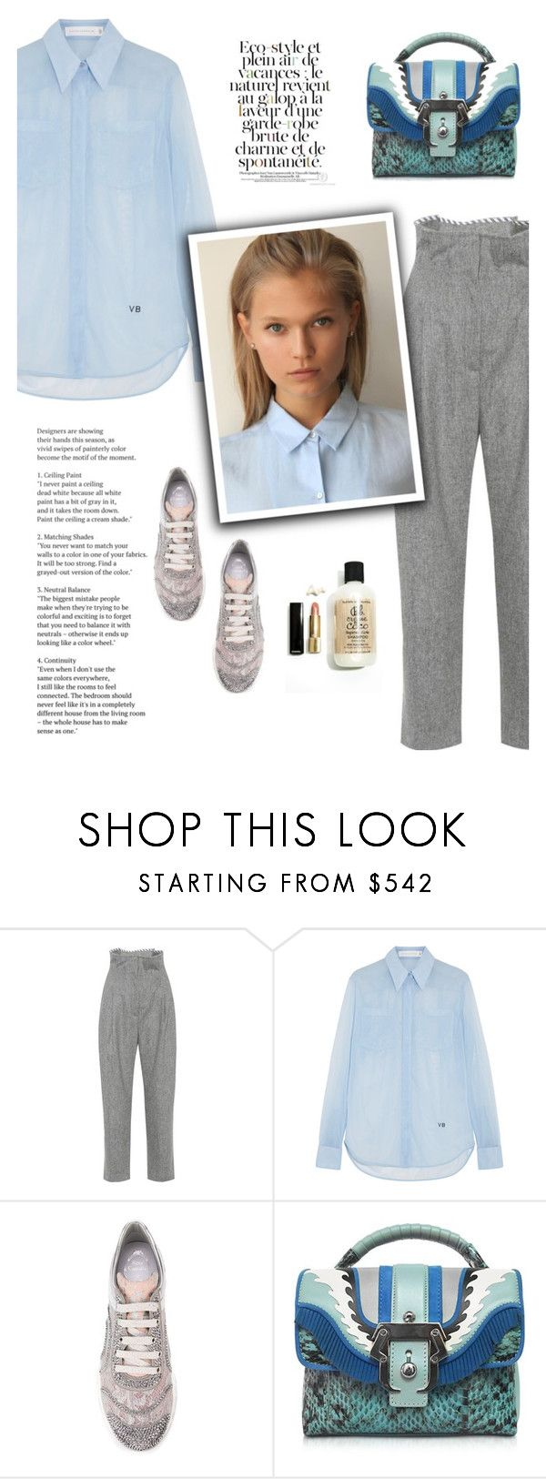 """09.12.2017"" by bliznec-anna ❤ liked on Polyvore featuring Anna October, Victoria Beckham, René Caovilla, Paula Cademartori and Eco Style"