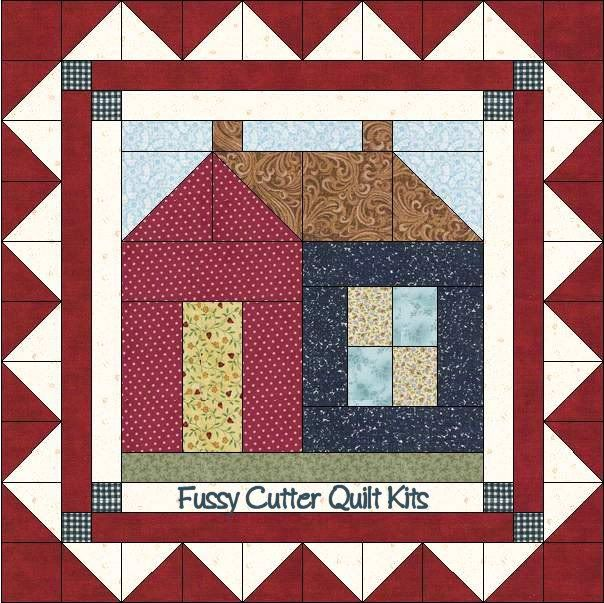 1301 best quilting images on pinterest patchwork for Modern house quilt block