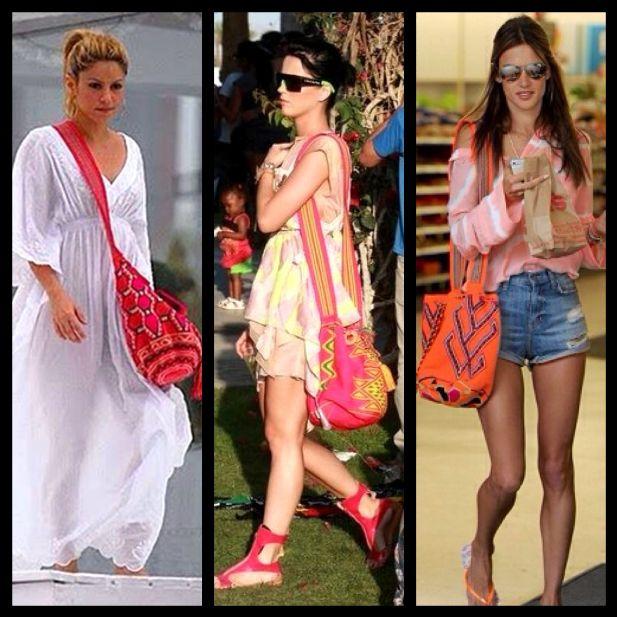 Shakira, Katy Perry and Alessandra Ambrósio - WAYUU Bag
