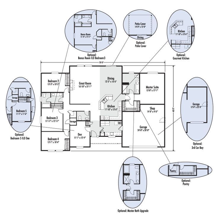 the madison custom floor plan adair homes - Custom Floor Plans