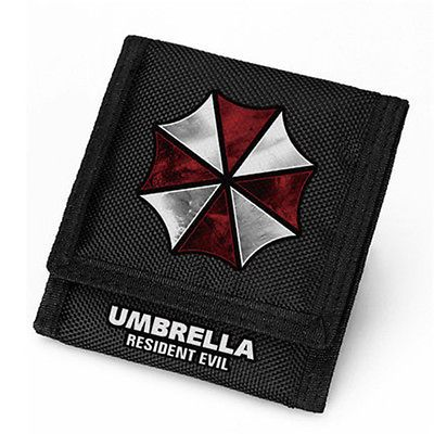 Resident Evil Logo Wallet Cospaly Accessory