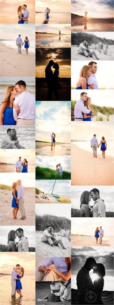 Best Beach Photography : VA Wedding Photographer – Chick's Beach Engagement Session – Melissa Bliss Photography – Shannon Tilling