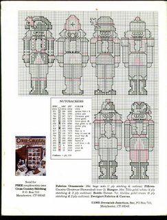 Cross stitch pattern The Nutcracker Factory 07