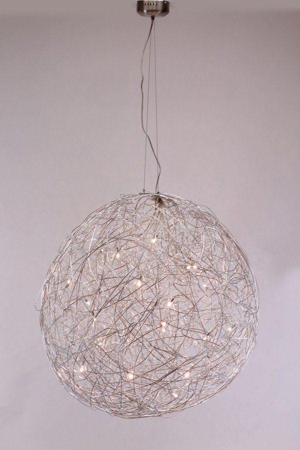 lampen Inclusief 20 x 10 watt 12 volt g4 halogeen Hanglamp gaasbol 90 cm hanglamp