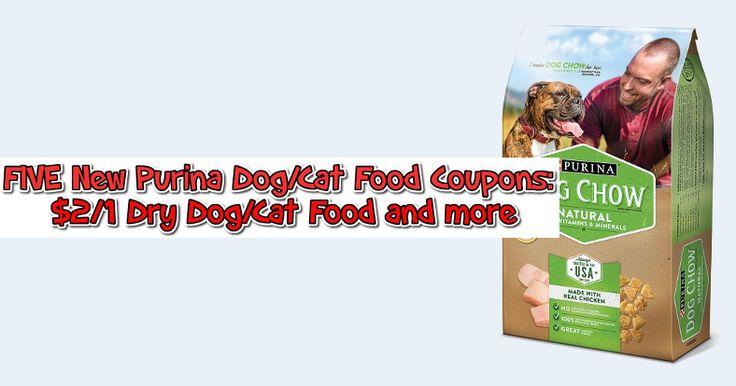 FIVE New Purina Dog/Cat Food Coupons : $2/1 Dry Dog/Cat Food and More - https://couponsdowork.com/2017/coupon-deals/five-new-purina-dogcat-food-coupons-21-dry-dogcat-food-and-more/
