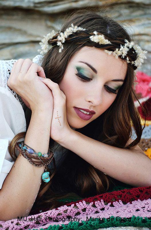 Bohemian Summer Lovin Shoot with Shan. Makeup, Hair, Styling, Photography by Marike de Groot