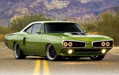 1970 Dodge Coronet Super Bee.  Awesome car in the only colour to have!