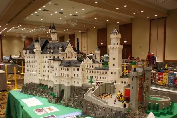 hogwarts, made from legos