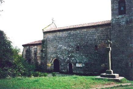 Mosteiro de São Pedro de Cête, Paredes