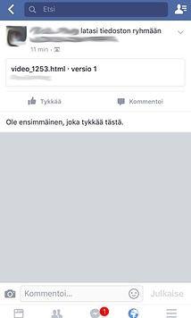 Facebookissa leviää epäilyttävä linkki - Älä klikkaa auki! - http://m.mtv.fi/lifestyle/digi/artikkeli/facebookissa-leviaa-epailyttava-linkki-ala-klikkaa-auki/5817050