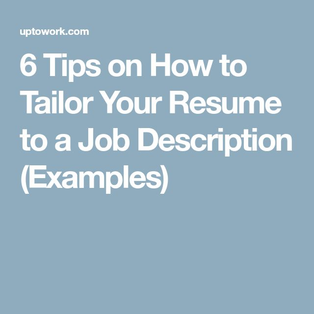 The  Best Job Description Ideas On   Build A Resume