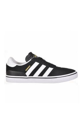 Adidas Skateboarding Busenitz Vulc Black/White/Black - Fuel Clothing