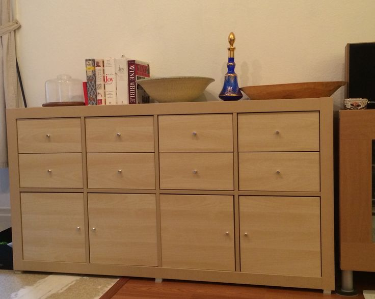 1000 Images About Ikea Kallax Ikea Expedit: Ikea Expedit With Kallax Doors And Drawers To Make A