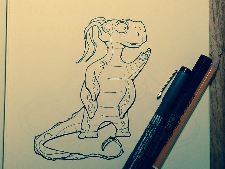 #inktober sketch by Rune Seir