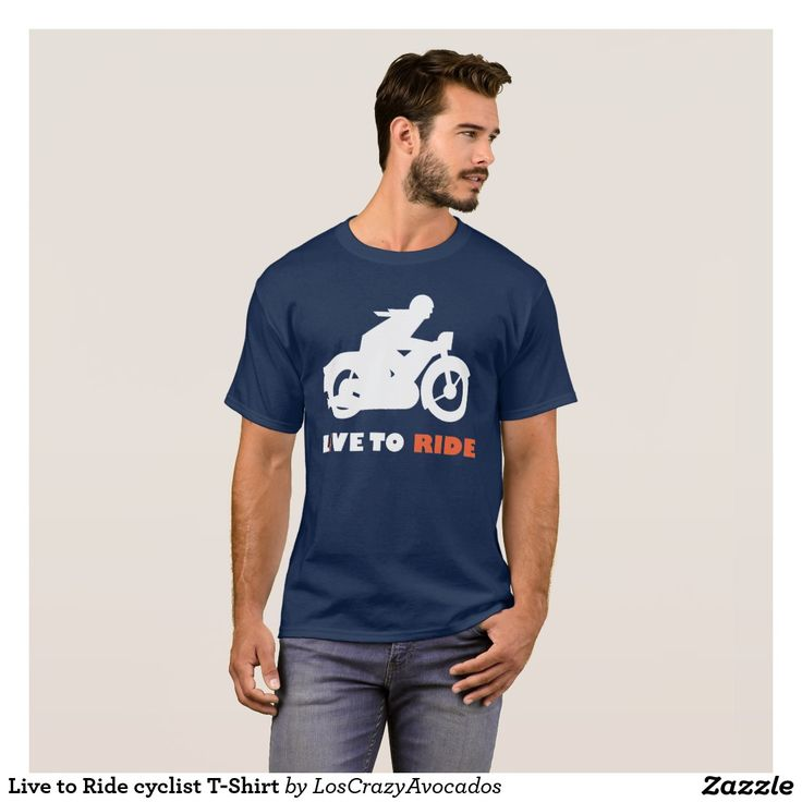Live to Ride cyclist T-Shirt