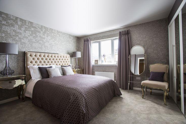 A stylish bedroom at Walker Group's Ashton Gardens in Kirkliston