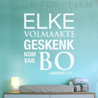 Elke Geskenk Christian Sticker - Click Image to Close