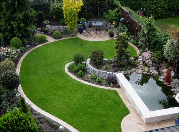 44 best images about Garten on Pinterest - pflegeleichter garten anlegen