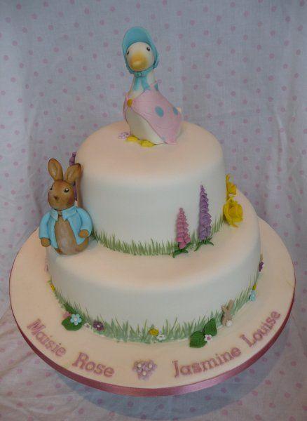 Beatrix Potter cake   http://www.pinksugarcakeboutique.co.uk/celebration-cakes-2/