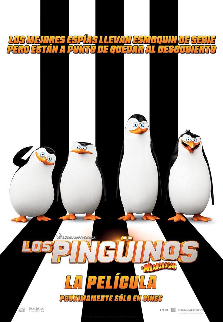"""Los pinguinos de madagascar """"La pelicula"""""""