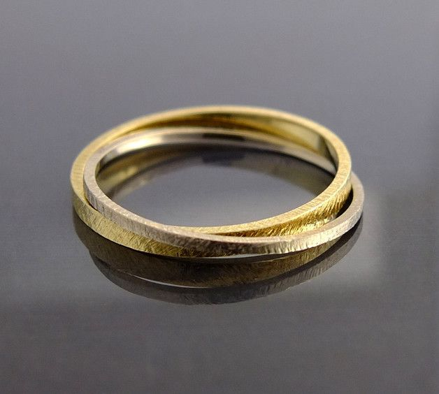 Eheringe - BIZOE- Ring / Ehering / Trauring aus Gold 585er - ein Designerstück von BIZOE bei DaWanda
