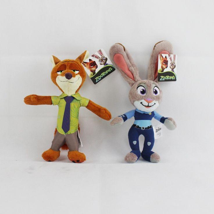 Kawaii Zootopia Plush Toys Rabbit Judy Hopps Fox Nick Wilde Movie Kids Dolls Stuffed Toy Plush Zootopia Dolls & Accessories Gift Price: USD 9.5 | United States