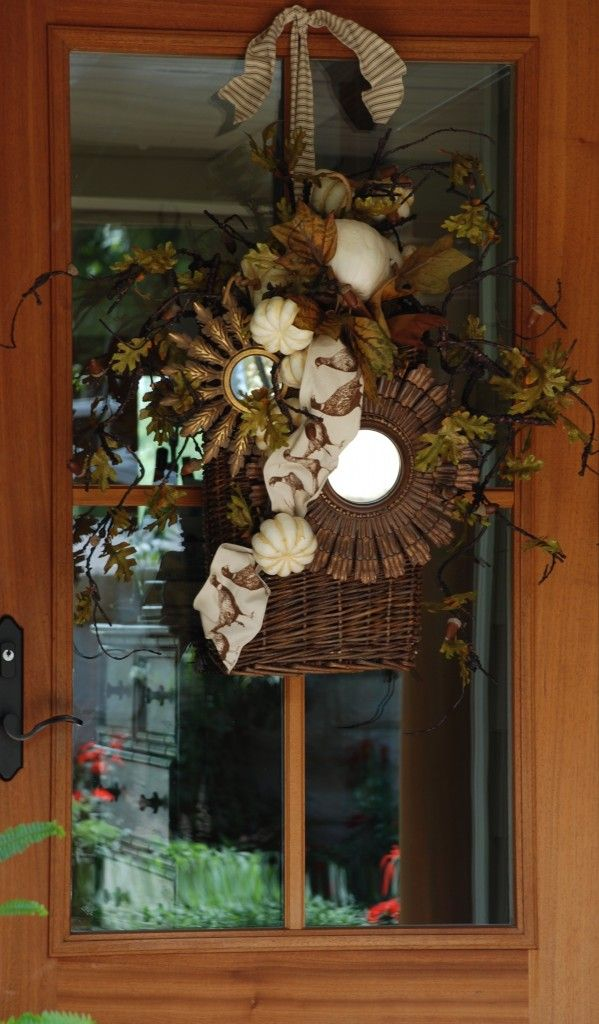 Small Rustic Sunburst Mirrors Fall Window Door Deor