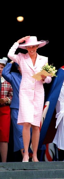Diana at St Paul's Cathedral service in London ... 1990?
