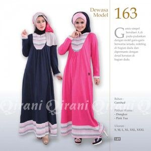 Baju Gamis Modis Qirani Model Terbaru 163 http://distromuslimah.net/baju-gamis-modis-qirani-model-terbaru-163/