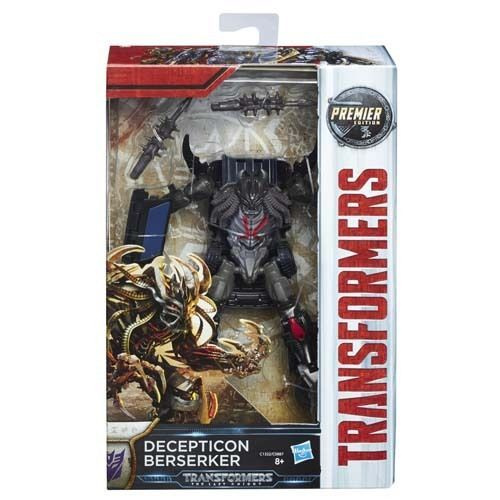 Hasbro Transformers The Last Knight Berserker Optimus Prime Premier Robot Toy #Hasbro