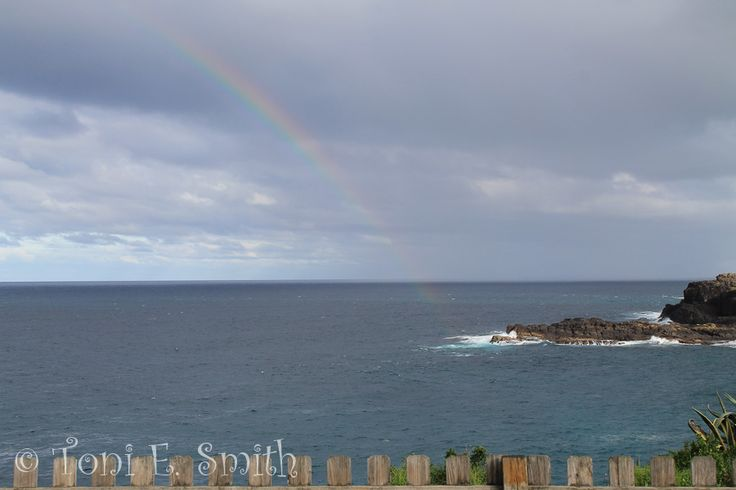 L1M2AP4 Lightroom Editing. My original image of a rainbow over the ocean taken with my Canon EOS 1100D 1/100 f/5.6 51mm ISO 100 Handheld