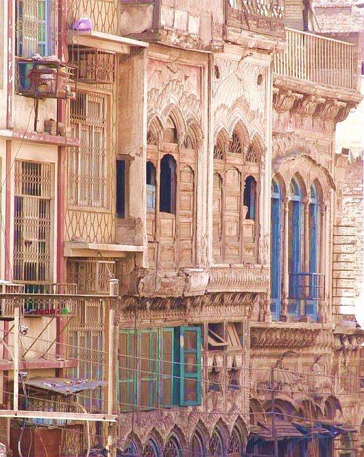 Walled City, Peshawar, Pakistan (circa. 1830s)