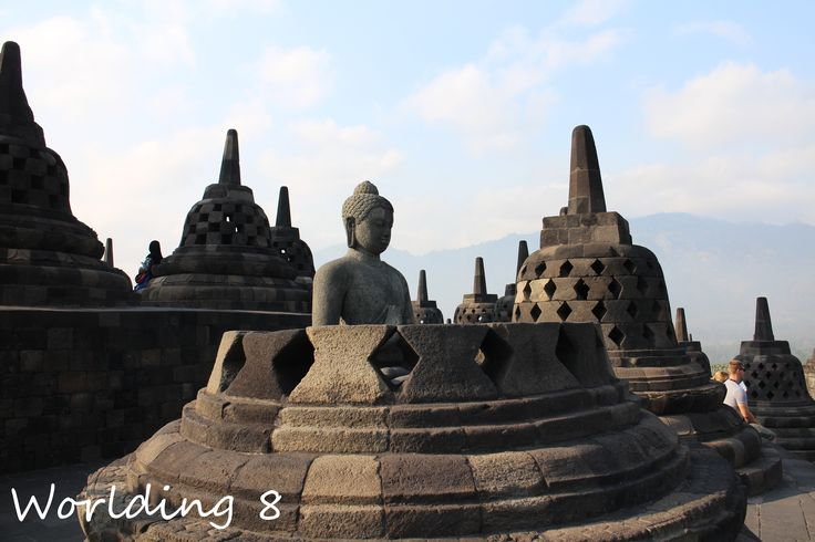 Templo de Borobudur, Yogyakarta, Isla de Java