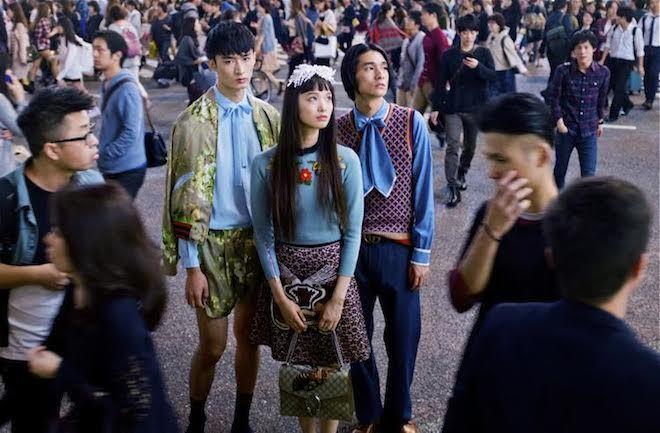 【動画】渋谷スクランブル交差点をジャック 新生「グッチ」の世界 | Fashionsnap.com