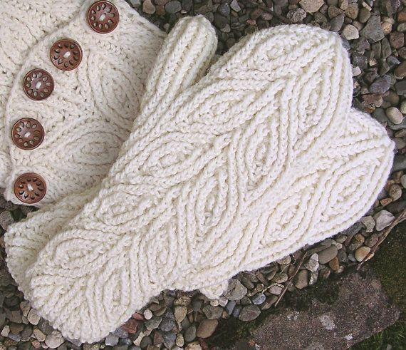 Rowan Mittens PDF knitting pattern by FingertipsPatterns on Etsy, $4.50