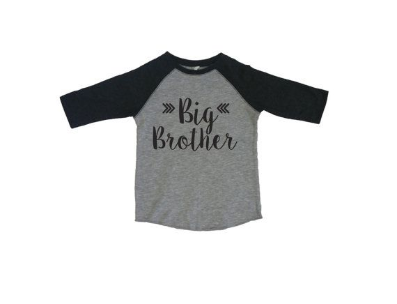 Big Brother Shirt Baby Announcement Shirt. by StrongGirlClothing