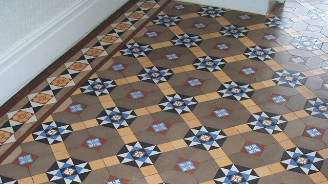 Restoration Services | Victorian, Edwardian and Georgian Floor Tiles | London Mosaic