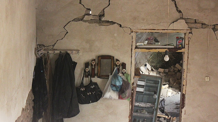 After Earthquake in Iran - from BBC Persoan
