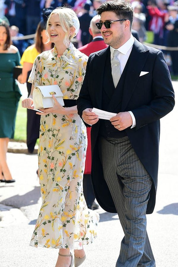Every Fabulous Royal Wedding Guest From Amal To Oprah Royal Wedding Guests Outfits Wedding Guest Outfit Wedding Guest Outfits Uk